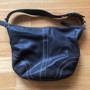 Coach Soho brown leather bag